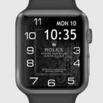 Rolex apple watch face