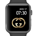 Gucci apple watch face