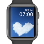 Heart cloud for Valentines Day